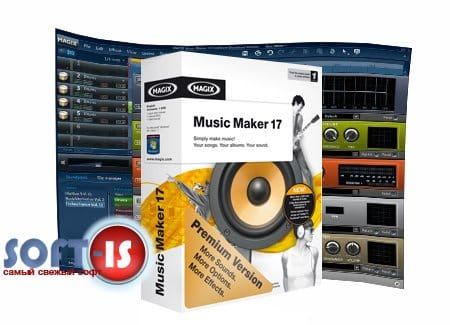 MAGIX Music Maker Premium 17