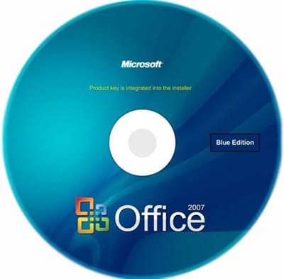 Microsoft Office 2007 Blue Edition (русская версия)