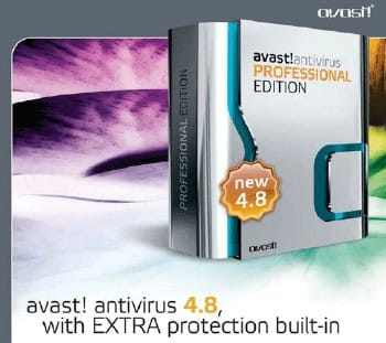 Avast 4.8 Professional Edition (русская версия)