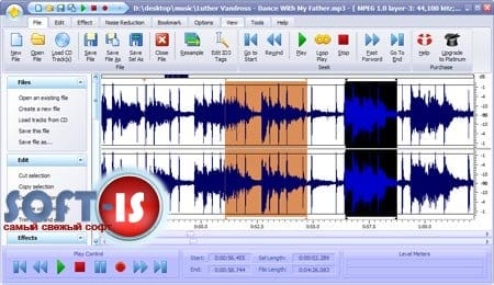 Power Sound Editor 7 + русификатор