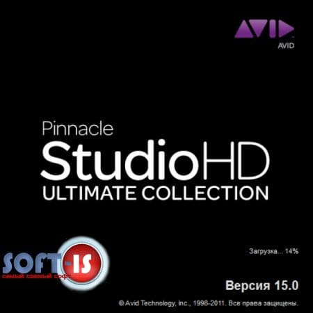 Pinnacle Studio 15 HD Ultimate Collection