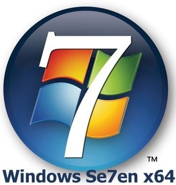 Windows Seven ultimate x64